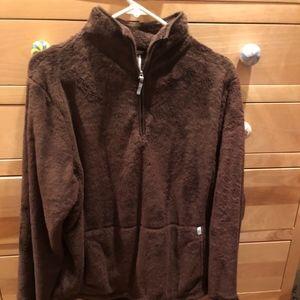 The North Face 1/4 zip Pullover  Fleece Jacket